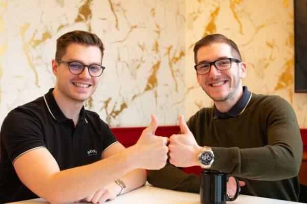 Gabriel Haug und Adrian Philipp im Interview