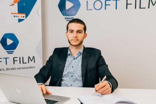 Mathieu Gendre von Loft Film sorgt mit Erklärvideos für Conversions.