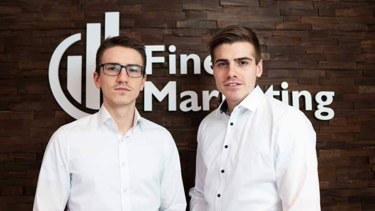 Luca Dürr und Nico Dürr von der Finest Marketing GmbH