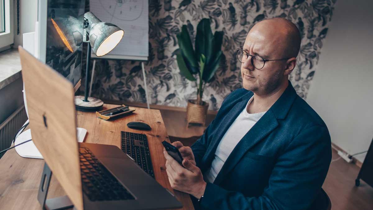 Frank Ewerle weiß, dass Handwerker dringend auf den Zug der Digitalisierung aufspringen müssen.