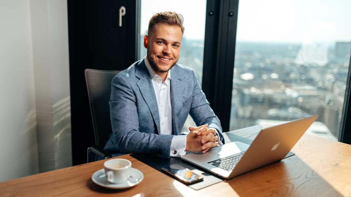 Lukas Krieger ist der Gründer von Krieger Marketing