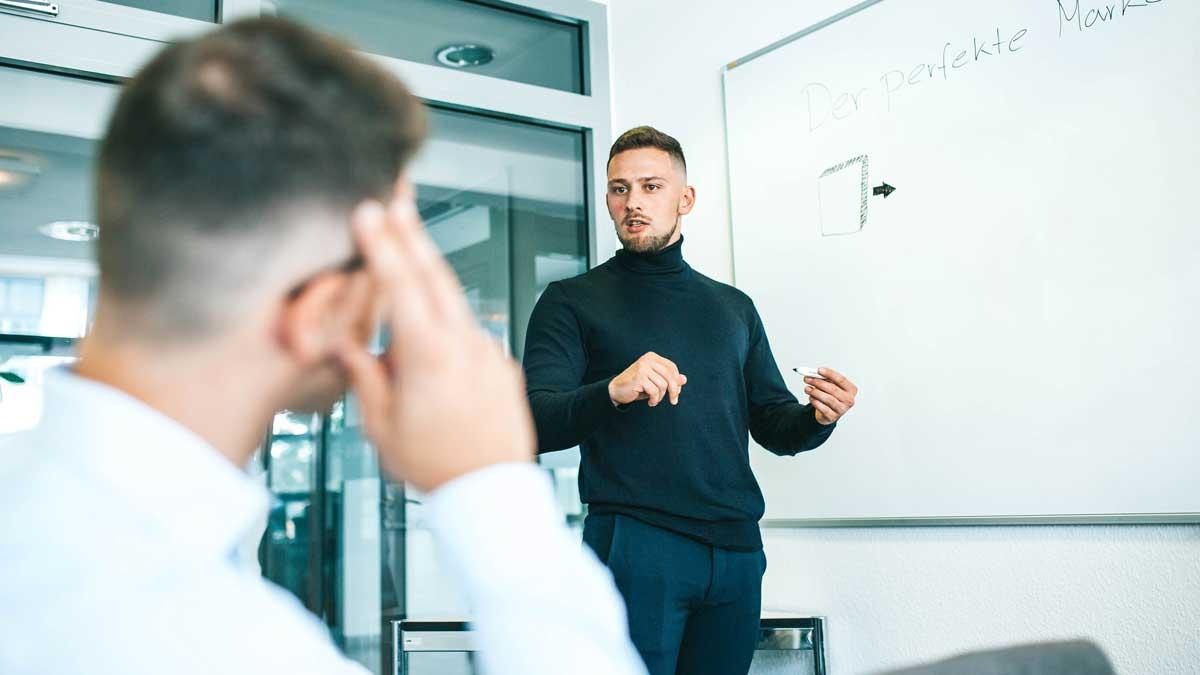 Antony Rigone arbeitet eng mit seinen Kunden zusammen