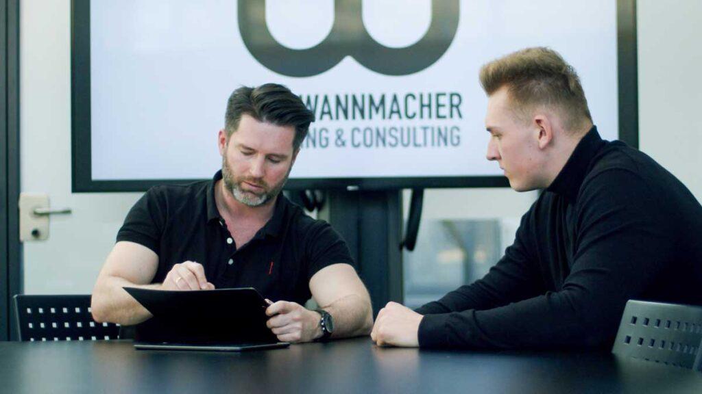 Dirk Wannmacher im Portrait