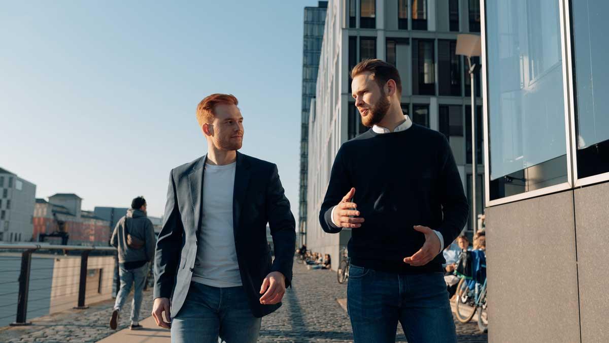 Malte Jung und Dennis Wölk sind die Gründer und Geschäftsführer von MyBestMedia
