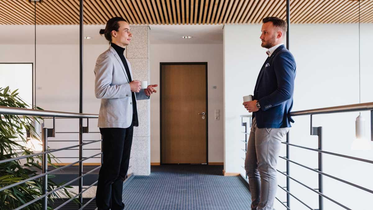 Maximilian Losch und Christian Krauß sind die Gründer von Pararius Marketing