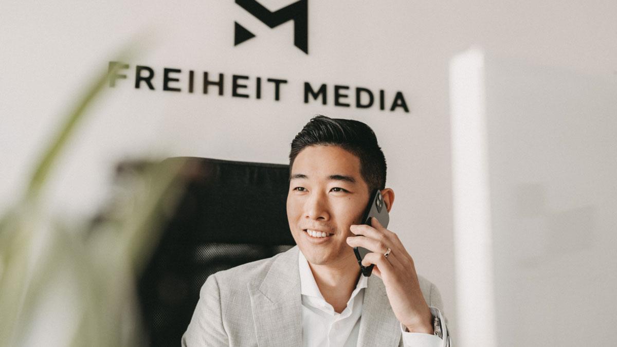 Tin Phan von Freiheit Media GmbH