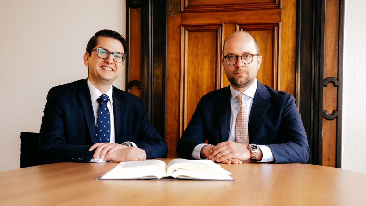 Domenic Böhm und Dr. Dominik Herzog von SYLVENSTEIN Rechtsanwälte